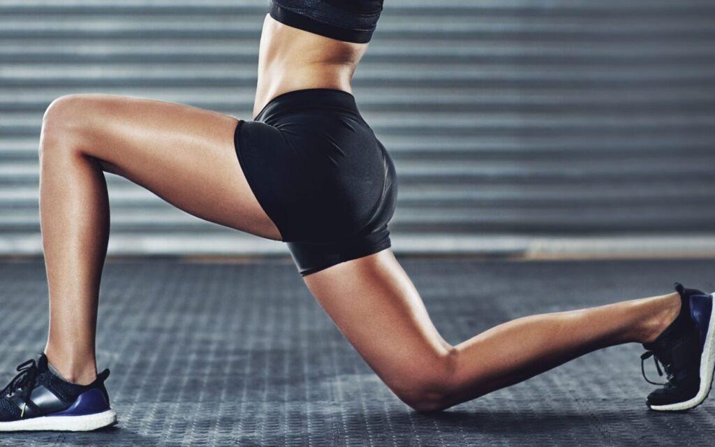 Massa muscular feminina
